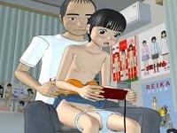 夏休みにゲームや漫画目当てに遊びに来るJS二人に悪戯する変態ロリコン。眠ったら起きないJSをレイプ中出し。男の子みたいなJSを女の子か確かめると言ってTVゲームをさせながらSEX。貧乳パイパンの小学生を悪戯する3Dエロアニメ「内緒・だ・よ!」。