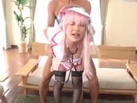 アニコス美少女(芦田知子)がパイパンマ○コとアナルの二穴3Pで、白目剥いて何度もイキまくります。セーラームーン等の2種類のコスプレ。顔射とアナル中出し。アニコス美少女のアナルセックスエロ動画。