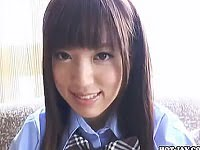 【着エロ JK】美少女の乳首もアナルも見えちゃう過激イメージビデオ。無料JK着エロ動画。