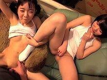 【JSロリ】秘密基地で近所の小学生に性的いたずら【早乙女ゆい 陽木かれん】