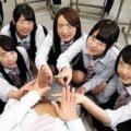 【女子校生】去年まで女子校だった学校に入学してハーレム乱交