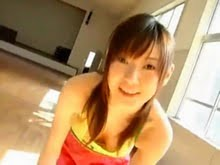 【着エロ】超美形でスレンダー巨乳の美少女のイメージビデオ