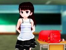 【3Dエロアニメ js ロリ】小学生がマッチョ教師二人に犯される【無音】