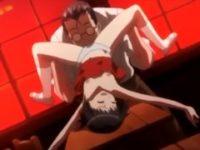 【エロアニメ JS】小学生の女子生徒をレイプする鬼畜教師。無料JSエロアニメ。