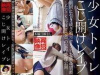 【JS】小学生女児5人公衆便所中出し強姦【長編】。無料JSエロ動画。