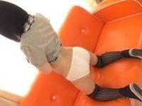 【JC 着エロ 加藤しおり/小咲みお】中学生くらいのロリっ娘の小尻鑑賞会。無料JC着エロ動画。