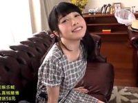 【JC】美少女で美巨乳の妹と主観でイチャラブ近親相姦。無料JC妹エロ動画。