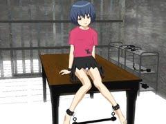 【3Dエロアニメ エロゲー JSロリ】 拘束恥育:拉致監禁した小学生を変態や触手がレイプ調教。無料JS3Dエロアニメ。
