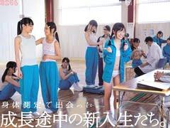 【JCロリ】中学生になりたての少女達が身体測定でレイプ【加賀美シュナ 初芽里奈 酒井紗也。無料JCエロ動画。
