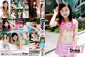 【JSジュニアアイドル 黒宮れい】Drop Attractive 07 REI:8歳小学生のイメージビデオ。無料U12ジュニアアイドルエロ動画。