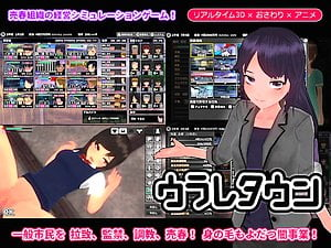 【3Dエロアニメ ロリ】ウラレタウン:女の子を拉致調教して売春させるシミュレーションゲーム。無料3Dエロアニメ。