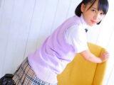 【着エロ JKロリ】接写×天羽成美:美少女女子高生が擬似セックスする過激イメージビデオ。無料JKエロ動画。