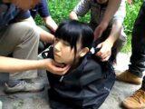 【JCロリ】中学生を拉致して山奥で輪姦レイプする鬼畜ロリコン【愛須心亜】。無料JCエロ動画。