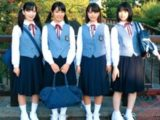 【jcロリ】中学生4人並べて順番に挿入してゆく夢のハーレム乱交