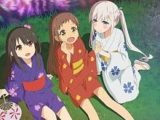 【エロアニメ JS ロリ】浴衣姿の小学生女児に中出しする駄菓子屋